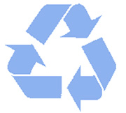 recycling bags, recycling plastic bags, recycling trash bags, blue recycling bags